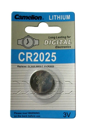 CR2025 BATTERY LITHIUM 3 VOLT BUTTON IEC CR2025 TYP