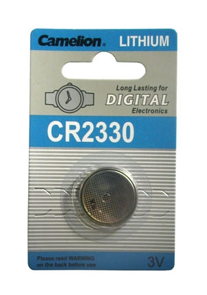 CR2330 BATTERY LITHIUM 3 VOLT BUTTON TYP IEC CR2330 (A CR2330-BP