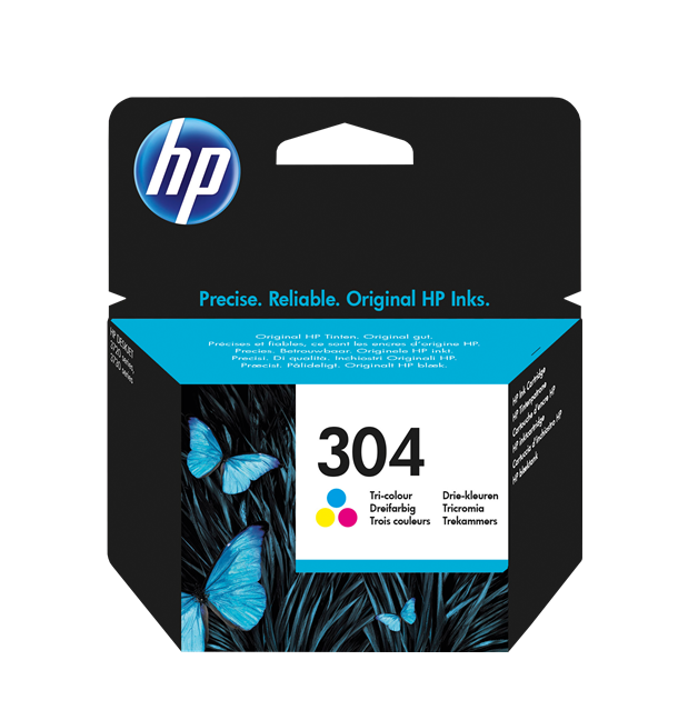 HP N9K05AE 304 INK CARTRIDGE TRI-COLOR