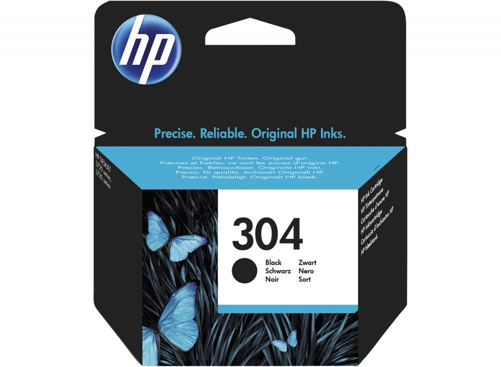 HP N9K06AE 304 INK CARTRIDGE BK