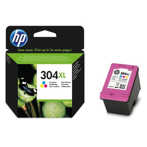 HP N9K07AE 304XL INK CARTRIDGE TRI-COLOR