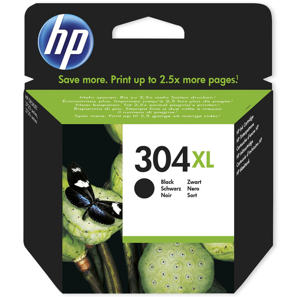 HP N9K08AE 304XL INK CARTRIDGE BK