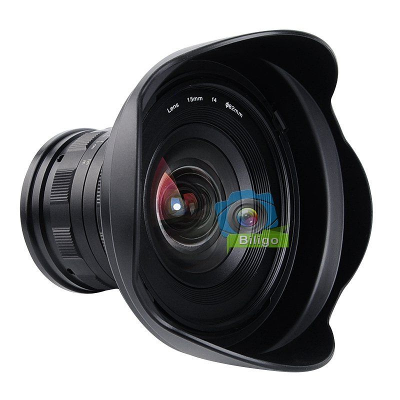Obiettivo 15mm f/4 F4 1:1 Ultra Wide Angle Lens For Nikon D7200